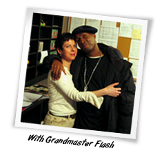 amanda with grandmaster flash